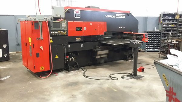 4th Amada CNC turret punch press