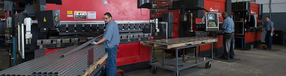 Quick-Way Manufacturing - Press Brakes Up to 130 Tons - Euless TX